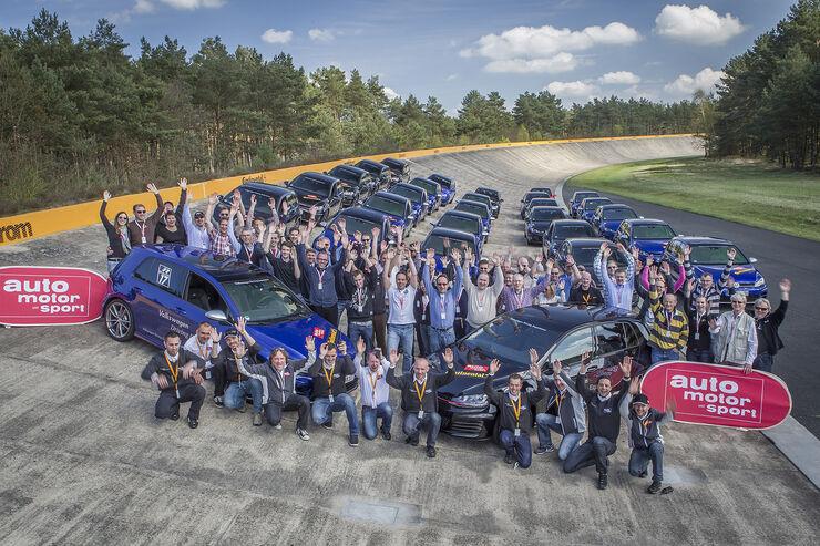 auto motor und sport-Fahrsicherheitstrainings 2014, VW Golf GTI, Continental
