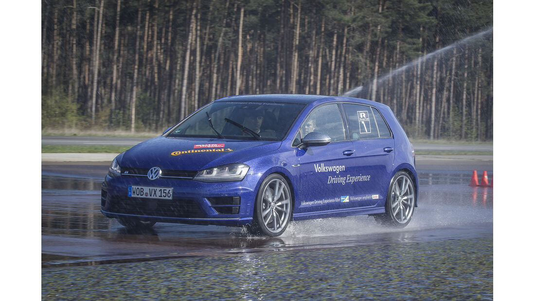 auto motor und sport-Fahrsicherheitstrainings 2014, VW Golf R, Continental