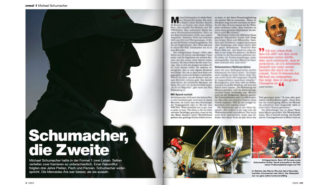auto motor und sport Heft 01/2013