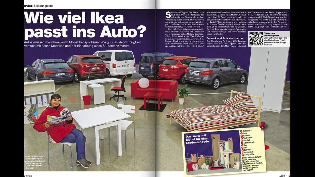 auto motor und sport Heft 06/ 2013 Inhalt