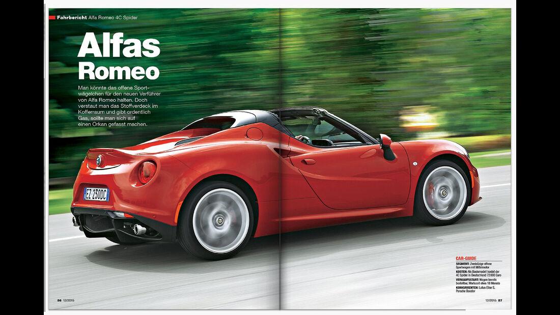 auto motor und sport Heft 12 Inhalt