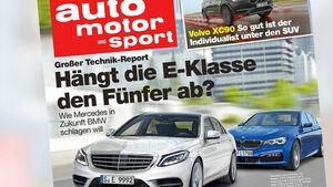 auto motor und sport, Heft 14 / 2015, Titel, Vorschau