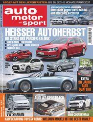 auto motor und sport Heft 20/10