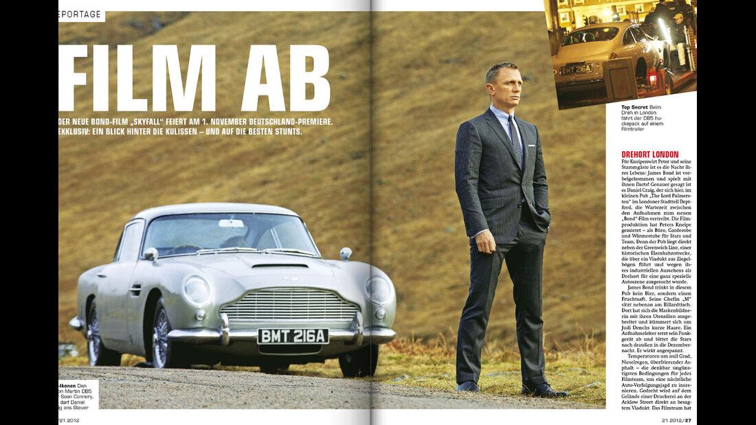 auto motor und sport - Heft 21/2012 Artikel Bond