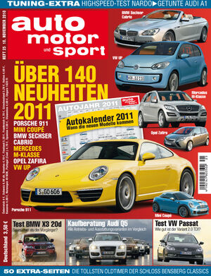 auto motor und sport Heft 25/2010