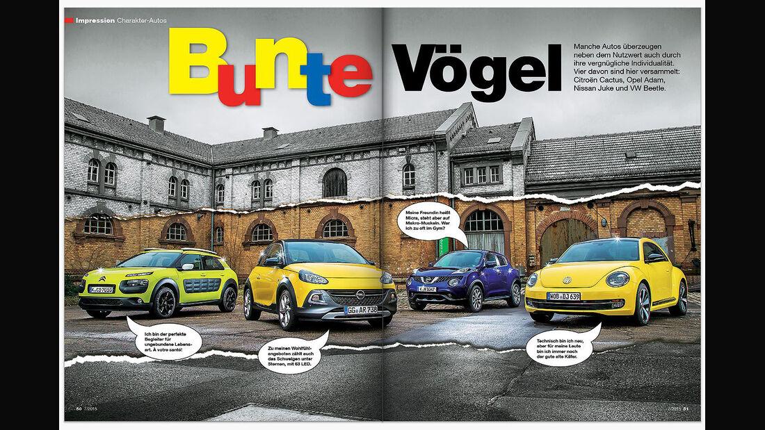 auto motor und sport Inhalt Heft 7 2015