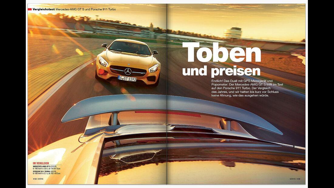 auto motor und sport Inhalt Heft 8 2015