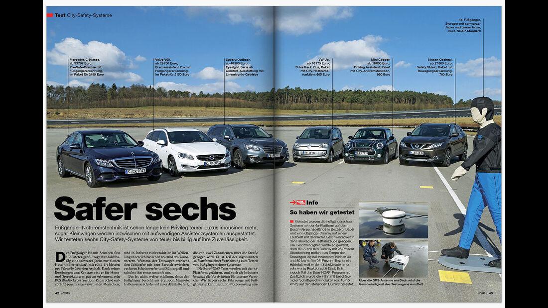 auto motor und sport Inhalt Heft 9