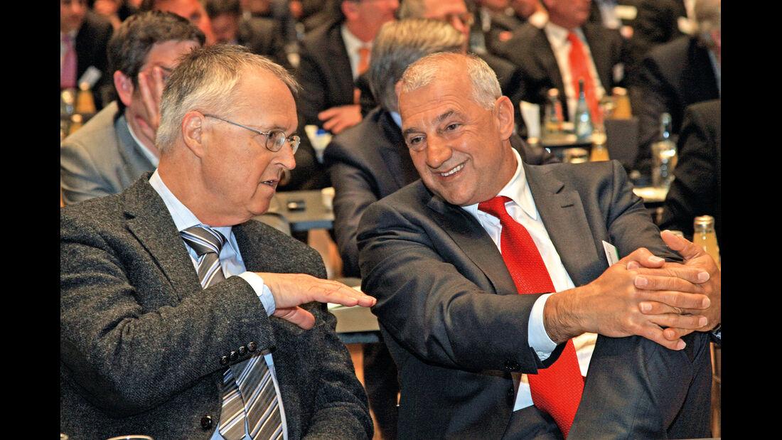 auto motor und sport-Kongress, Hans Eichel, Willi Balz