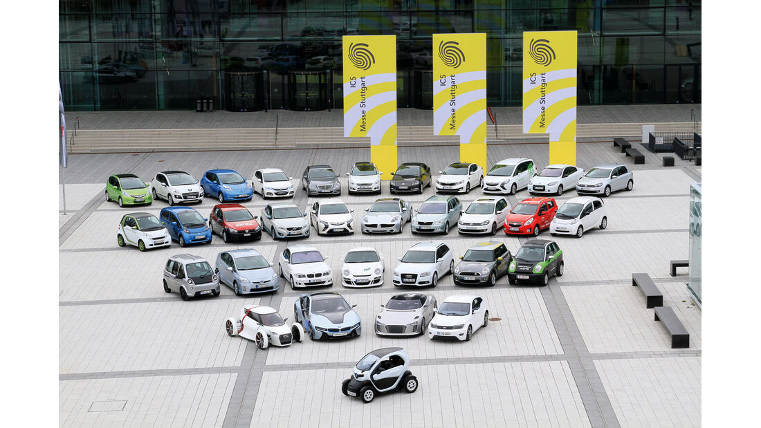 auto motor und sport-Kongress, Neue Antriebsmodelle, Autos