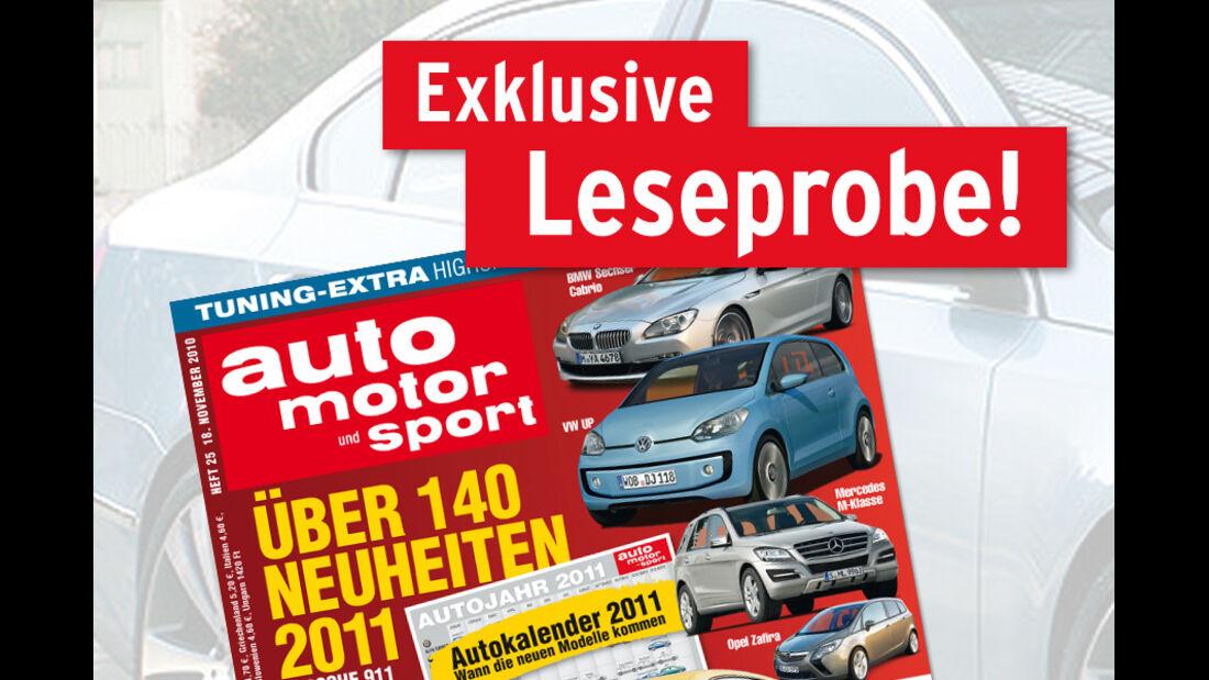 auto motor und sport Kostenlose Leseprobe 25/2010