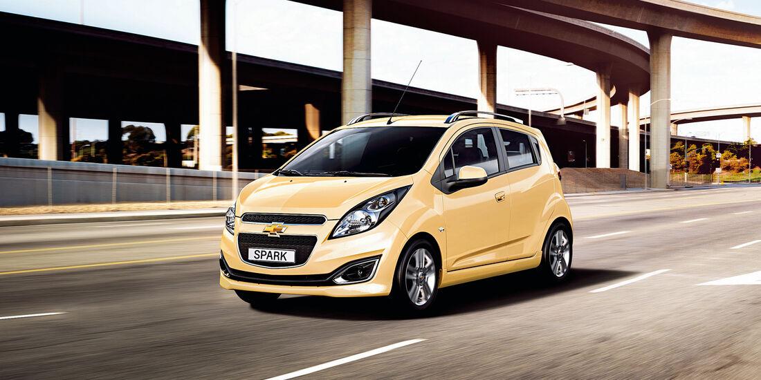 auto, motor und sport Leserwahl 2013: Kategorie A Minicars - Chevrolet Spark
