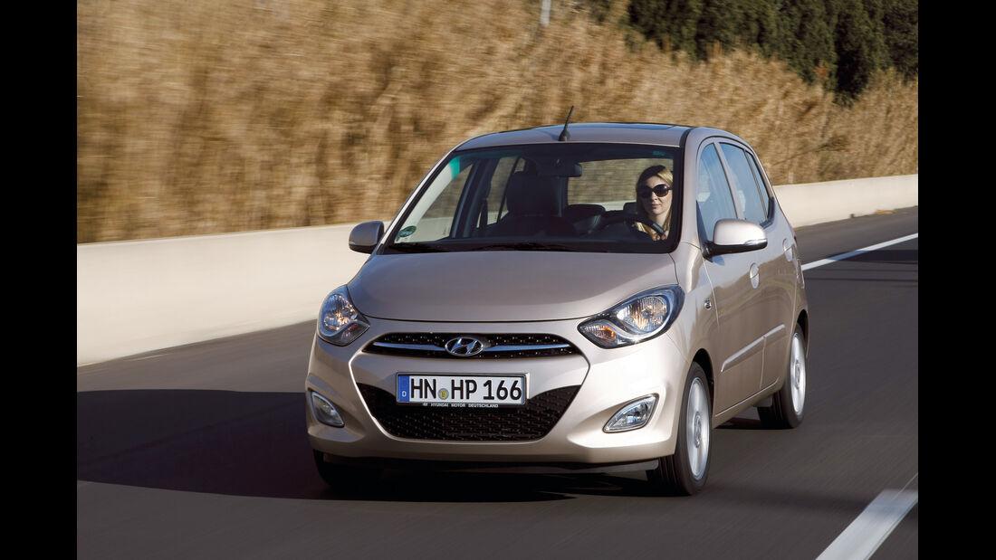 auto, motor und sport Leserwahl 2013: Kategorie A Minicars - Hyundai i10