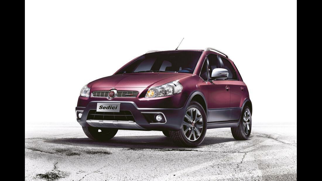 auto, motor und sport Leserwahl 2013: Kategorie B Kleinwagen - Fiat Sedici