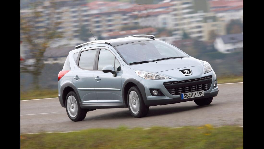 auto, motor und sport Leserwahl 2013: Kategorie B Kleinwagen - Peugeot 207 SW
