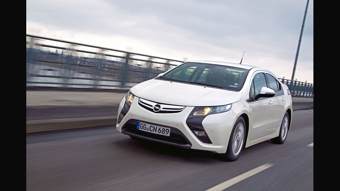 auto, motor und sport Leserwahl 2013: Kategorie C Kompaktklasse - Opel Ampera