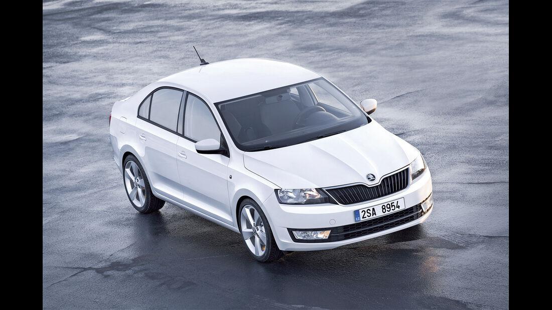 auto, motor und sport Leserwahl 2013: Kategorie C Kompaktklasse - Skoda Rapid