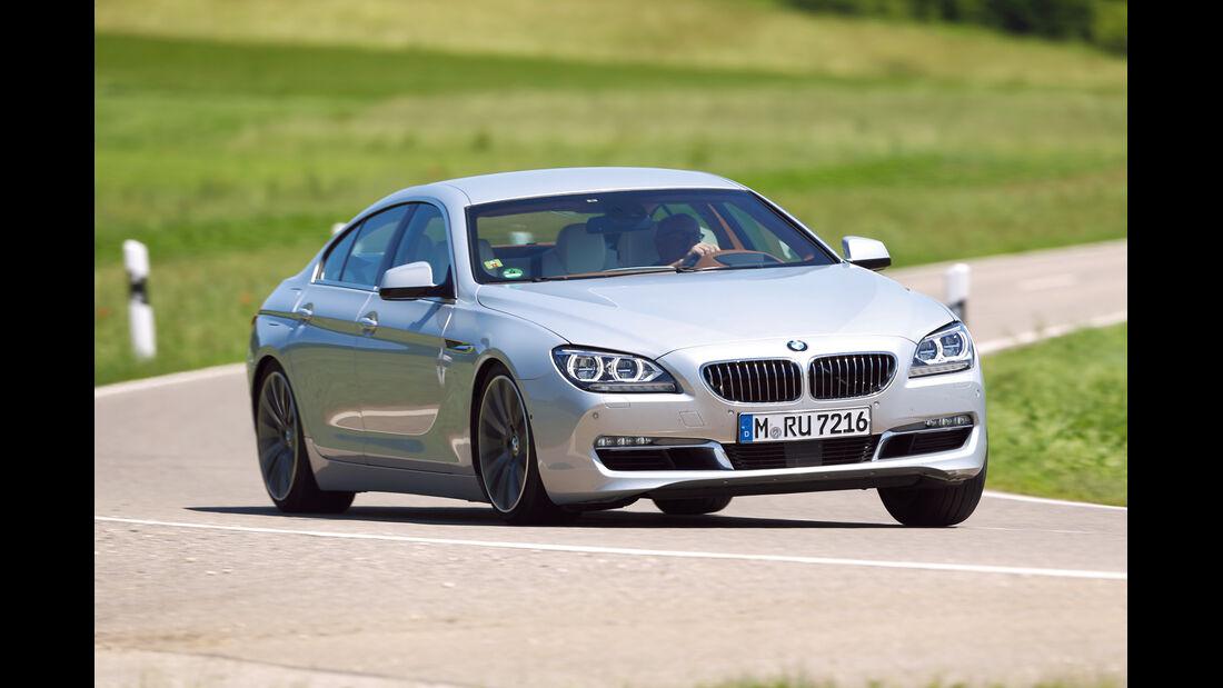 auto, motor und sport Leserwahl 2013: Kategorie F Luxusklasse - BMW Sechser Gran Coupé