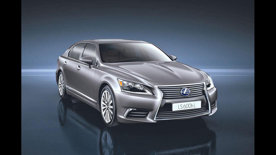 auto, motor und sport Leserwahl 2013: Kategorie F Luxusklasse - Lexus LS