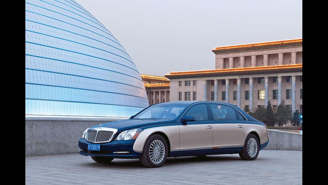 auto, motor und sport Leserwahl 2013: Kategorie F Luxusklasse - Maybach
