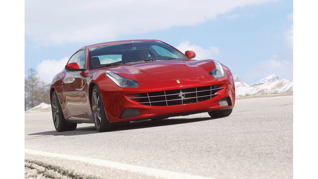auto, motor und sport Leserwahl 2013: Kategorie G Sportwagen - Ferrari FF