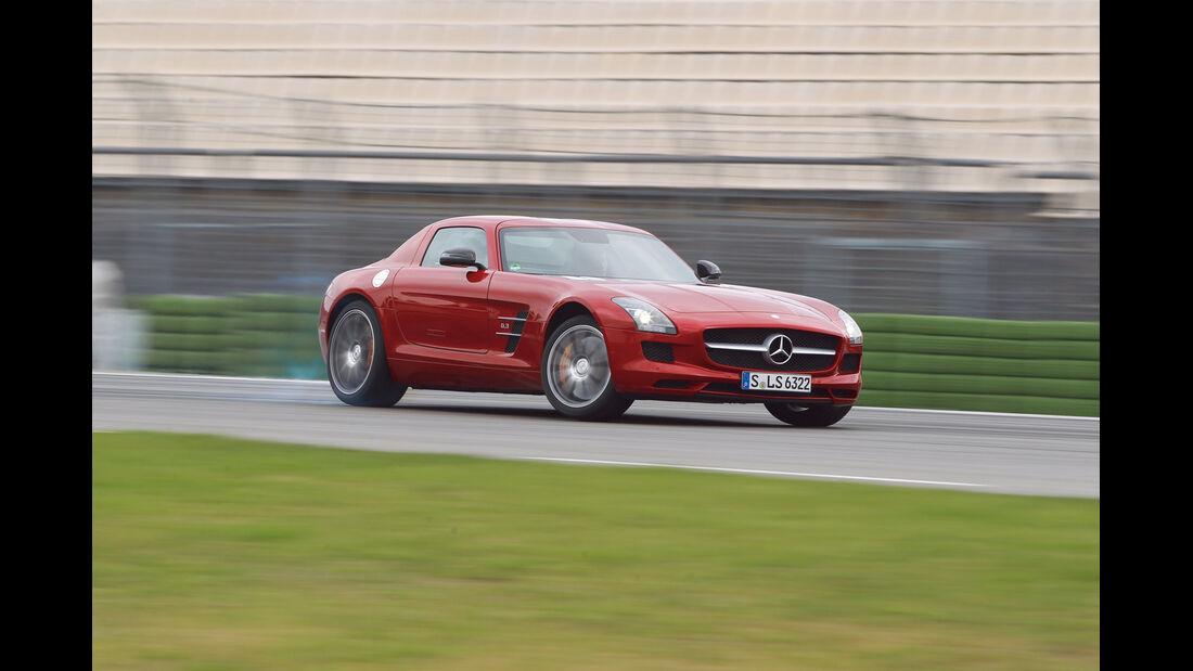 auto, motor und sport Leserwahl 2013: Kategorie G Sportwagen - Mercedes SLS AMG