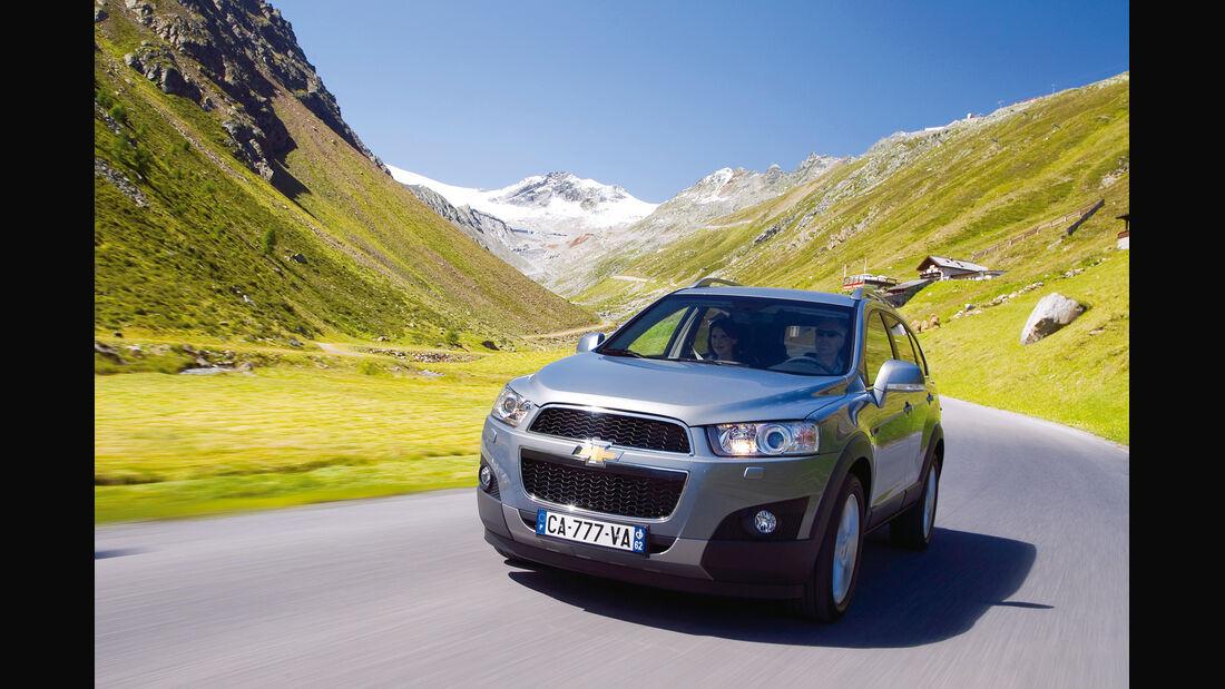 auto, motor und sport Leserwahl 2013: Kategorie I Gelände - Chevrolet Captiva