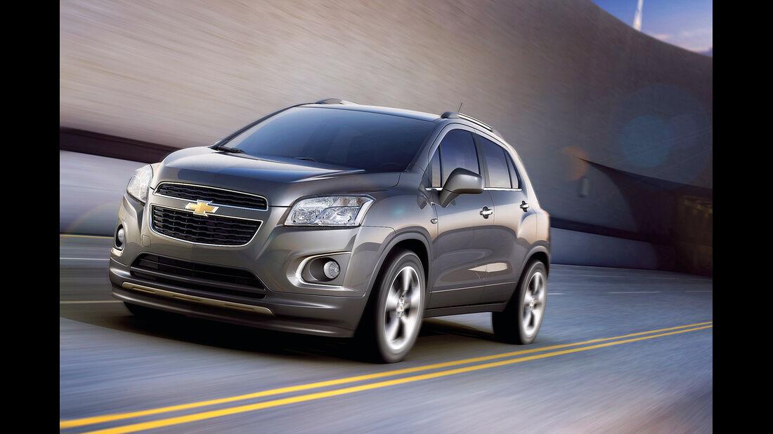 auto, motor und sport Leserwahl 2013: Kategorie I Gelände - Chevrolet Trax