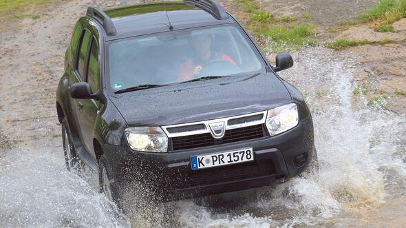 auto, motor und sport Leserwahl 2013: Kategorie I Gelände - Dacia Duster