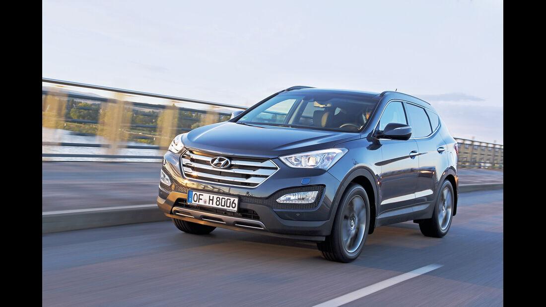 auto, motor und sport Leserwahl 2013: Kategorie I Gelände - Hyundai Santa Fe
