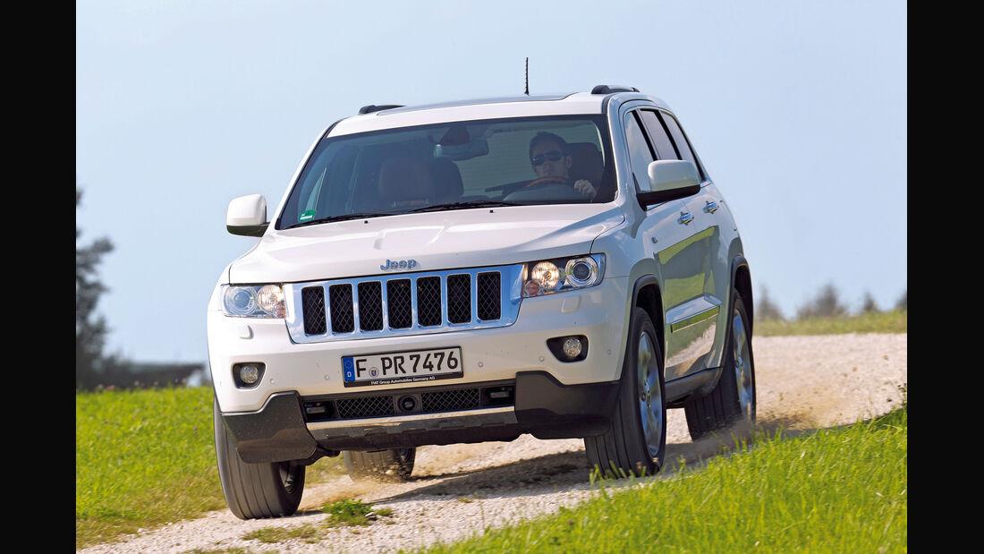 auto, motor und sport Leserwahl 2013: Kategorie I Gelände - Jeep Grand Cherokee