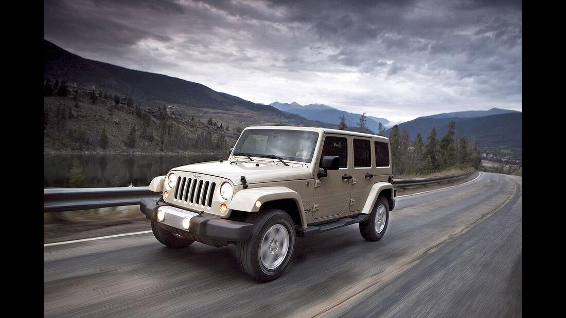 auto, motor und sport Leserwahl 2013: Kategorie I Gelände - Jeep Wrangler