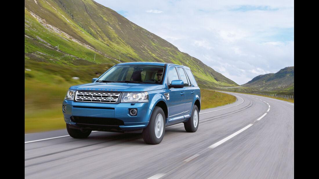 auto, motor und sport Leserwahl 2013: Kategorie I Gelände - Land Rover Freelander