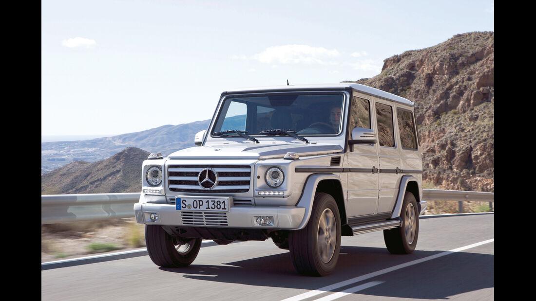auto, motor und sport Leserwahl 2013: Kategorie I Gelände - Mercedes G-Klasse
