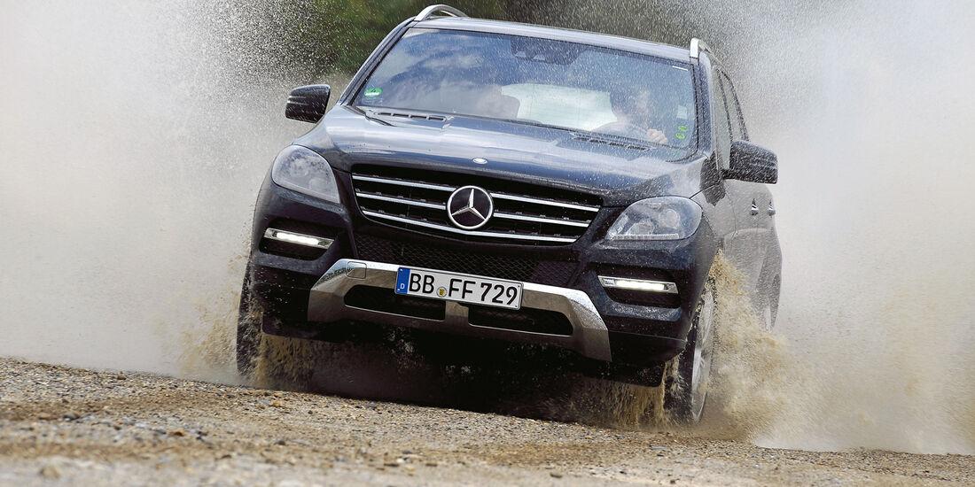 auto, motor und sport Leserwahl 2013: Kategorie I Gelände - Mercedes M-Klasse