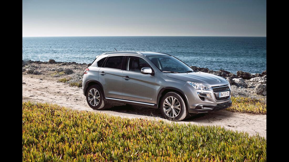 auto, motor und sport Leserwahl 2013: Kategorie I Gelände - Peugeot 4008