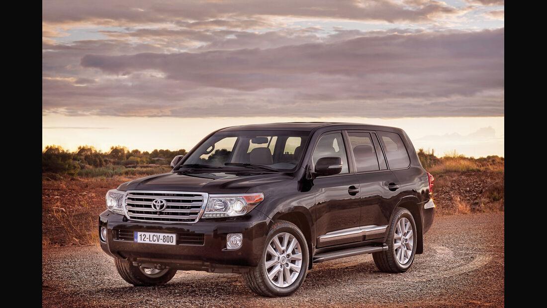 auto, motor und sport Leserwahl 2013: Kategorie I Gelände - Toyota Landcruiser V8
