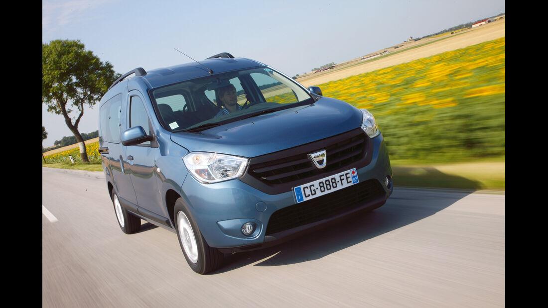 auto, motor und sport Leserwahl 2013: Kategorie K Vans - Dacia Dokker
