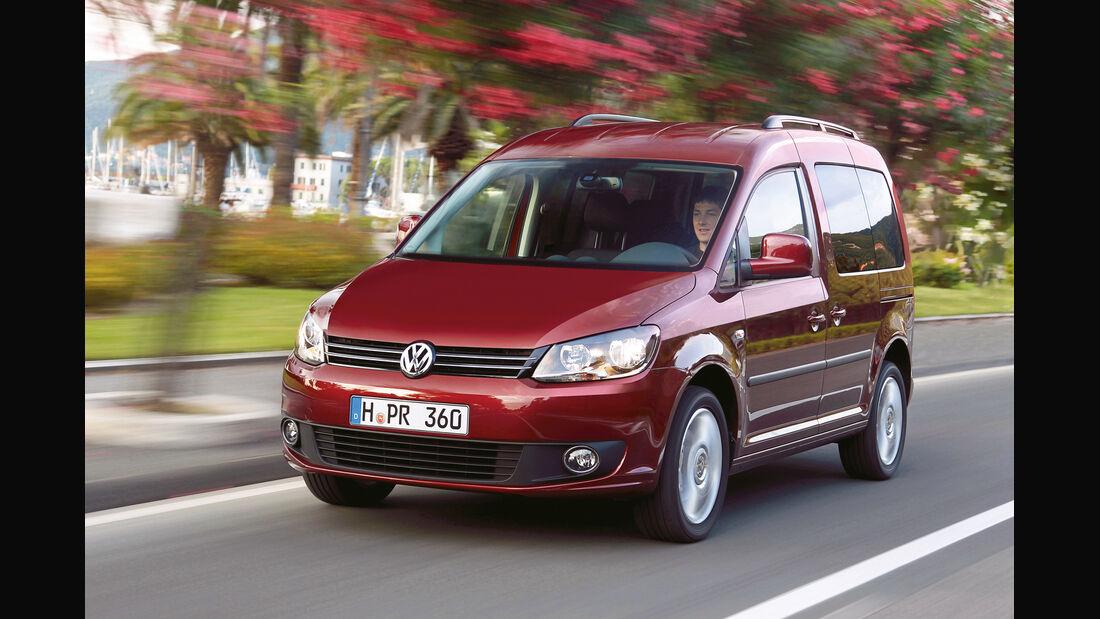 auto, motor und sport Leserwahl 2013: Kategorie K Vans - VW Caddy