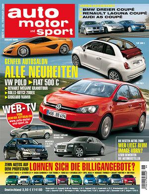 auto motor und sport Titel 06/09