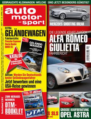 auto motor und sport Titel 10/2010