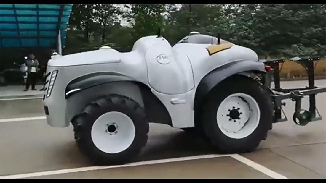 autonomer Brennstoffzellen-Traktor China ET504-H