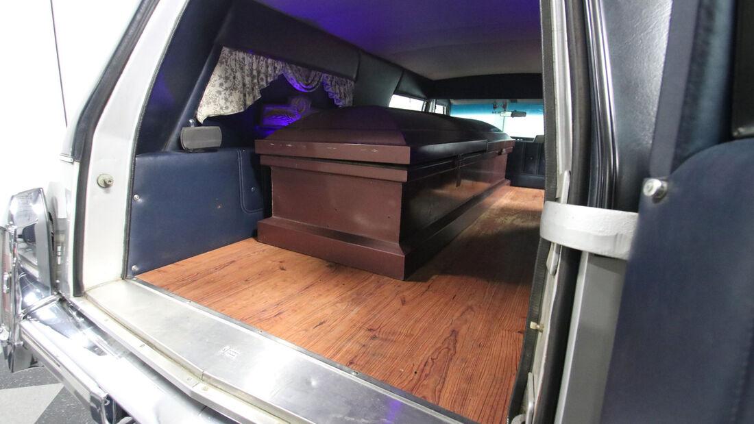 cadillac brougham hearse
