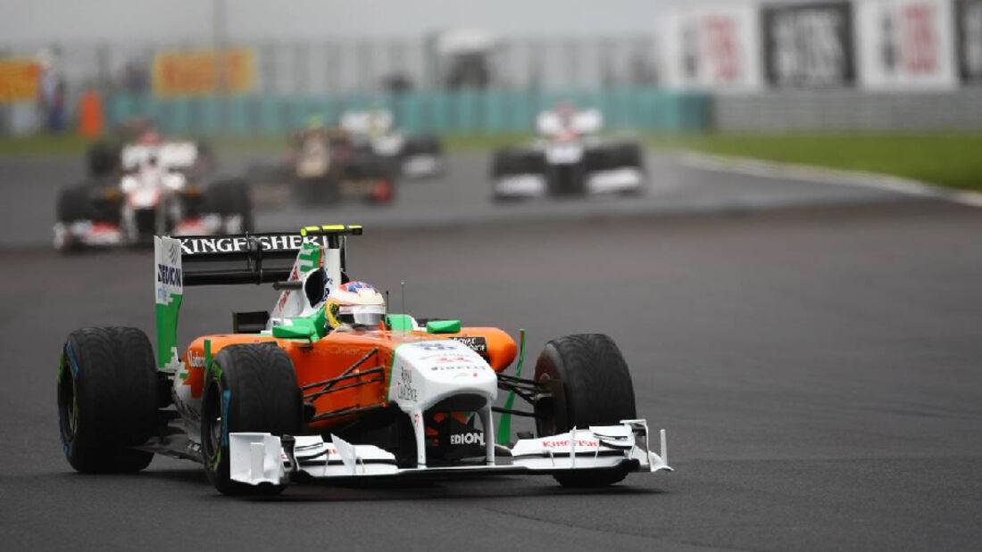 di Resta- Noten - GP Ungarn - Formel 1 - 31.7.2011