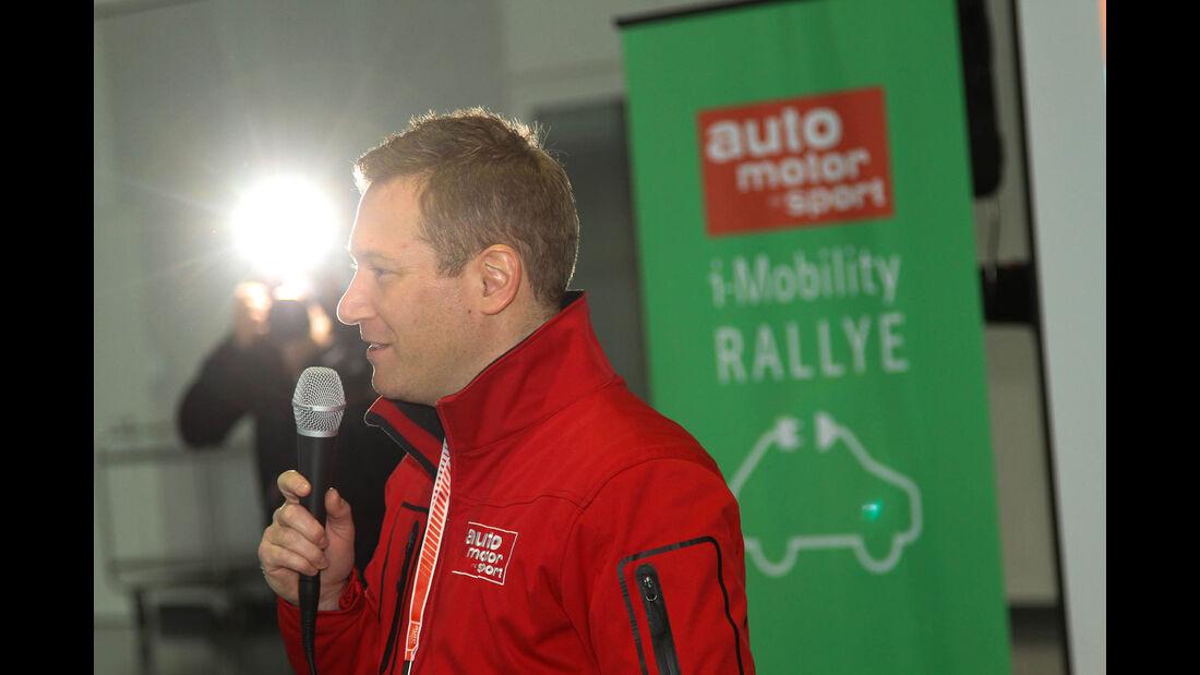 i-Mobility Rallye 2016, Begrüßung, Jens Katemann