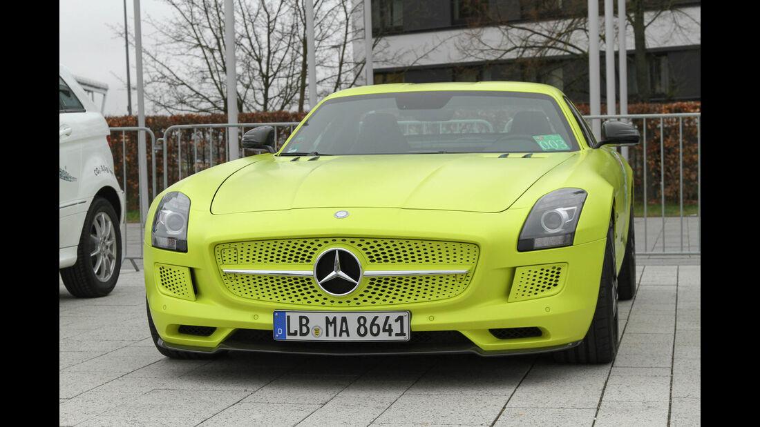 i-Mobility Rallye 2016, Mercedes-Benz AMG SLS Electric Drive