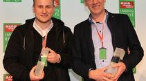 i-Mobility Rallye 2016, Siegerehrung, 3. Platz, Jürgen und Johannes Lang