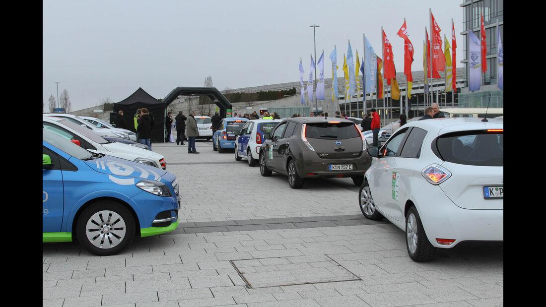 i-Mobility Rallye 2016, Start
