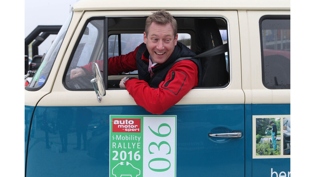 i-Mobility Rallye 2016, VW T2, Dorstener Arbeit