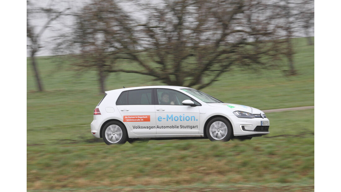 i-Mobility Rallye 2016, VW e-Golf